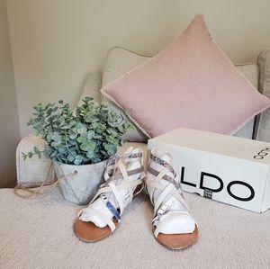 Brand new Aldo sandals size 34 4 4.5 5